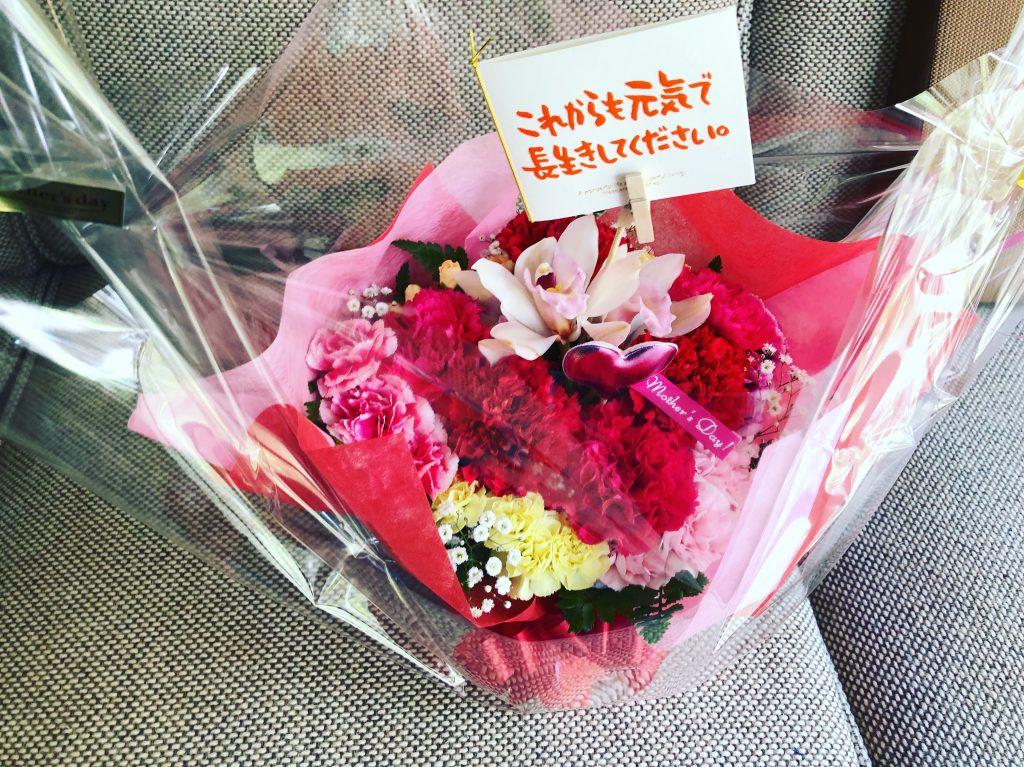 3個目 母の日に花のプレゼント
